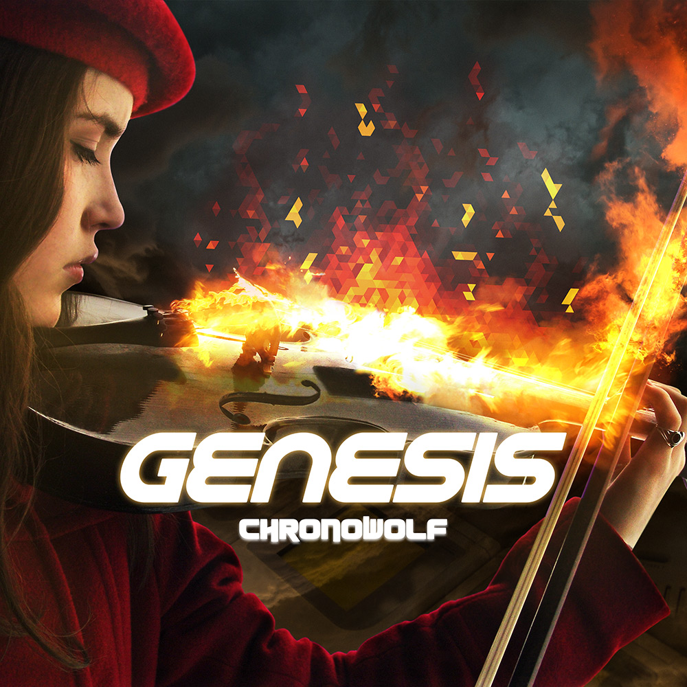 ChronoWolf Genesis Cover Art
