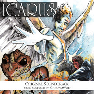 ChronoWolf Icarus Original Soundtrack Cover Art